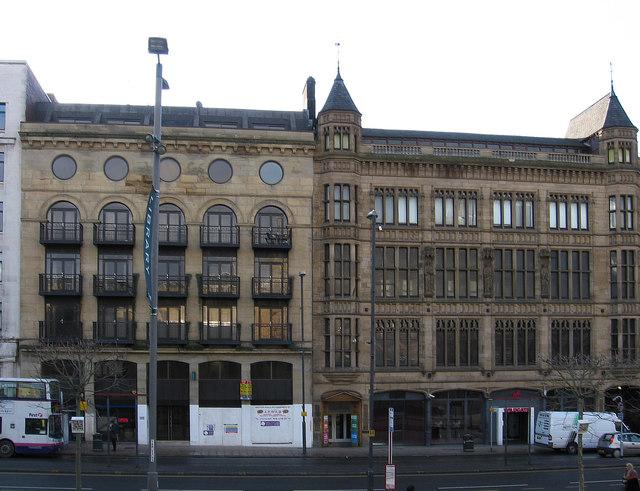 Leeds - offices on The Headrow