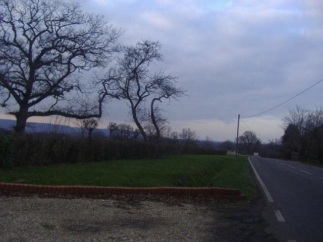 Rusper Road by Rusper golf club