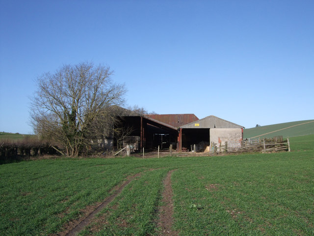 New Barn from behind