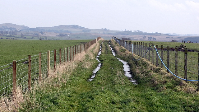 Farm track above Bandrum