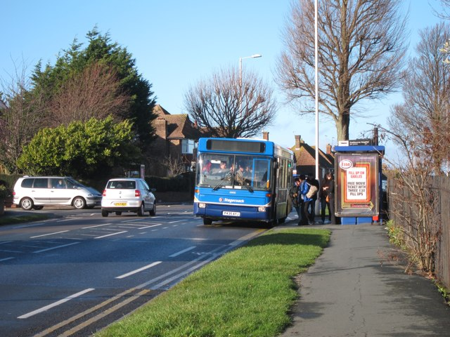 Bus stop on King's Drive