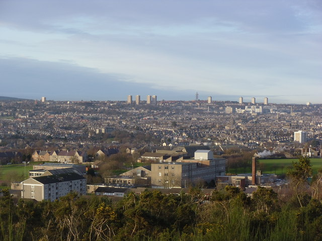 Aberdeen from Kincorth Hill