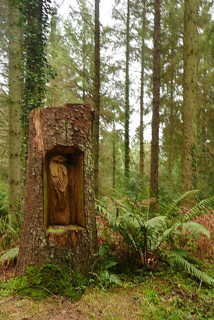 Sculpture in the forest