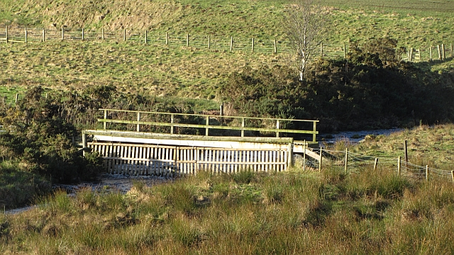 Footbridge over the Lugate Water
