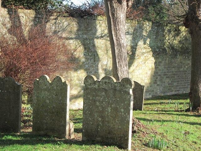 Gravestones at Church of St Andrew