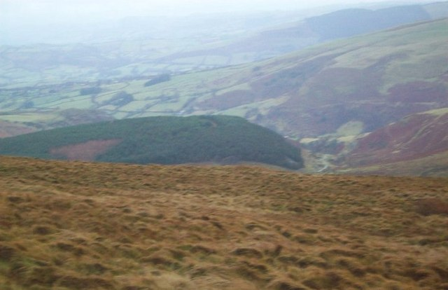 Looking from Godor into Cwm Ffynnon