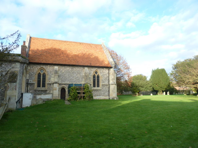 St Peter's at St Mary Bourne- looking towards the chancel