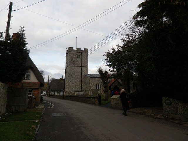 St Peter's at St Mary Bourne- January 2012