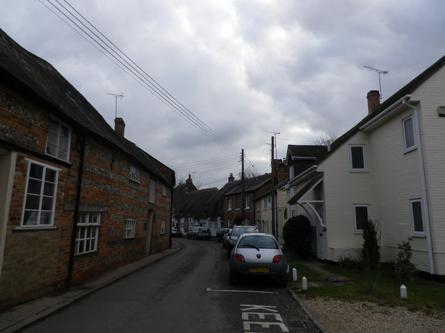 St Mary Bourne- the village street