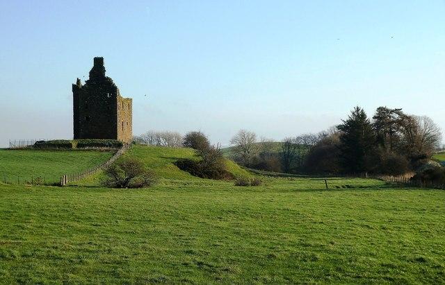 Baltersan Castle