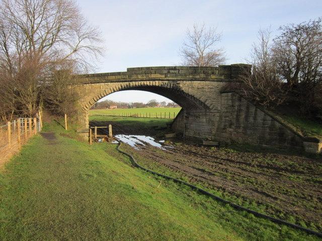 The bridge on Littlemoor Lane, Thorner