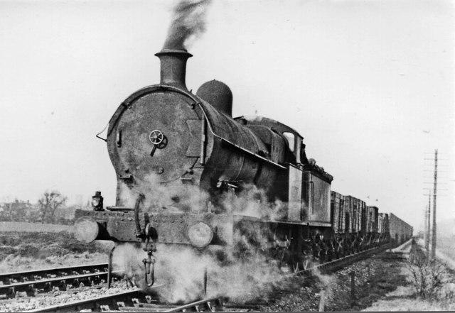 Walsall - Wednesbury freight near Bescot