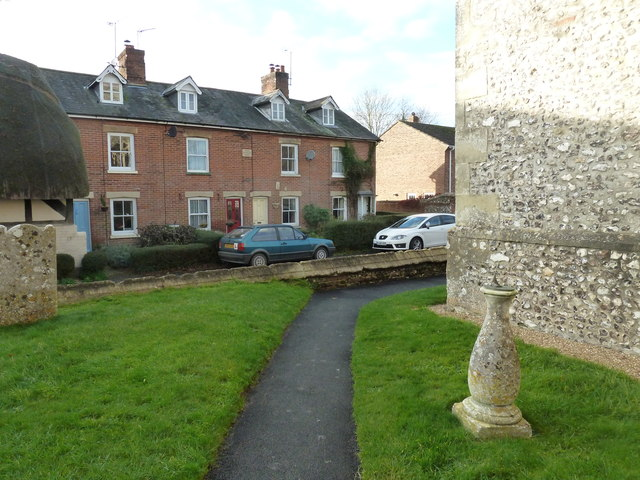 St Peter's at St Mary Bourne- sundial