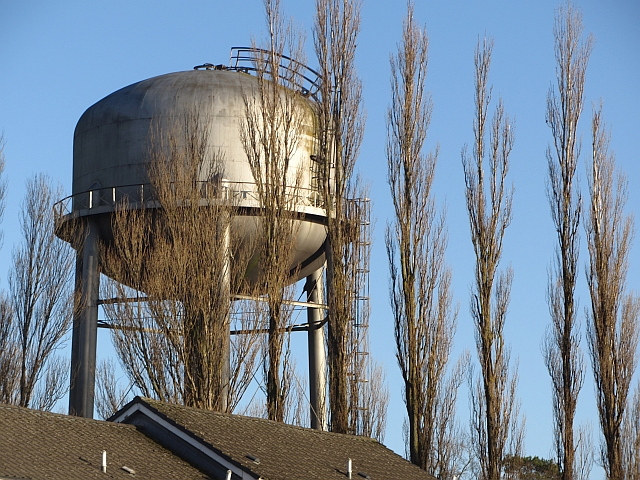 Water tower, Muirhouse