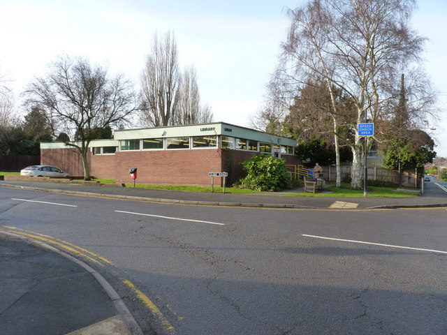 Bayston Hill library
