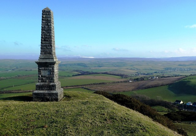 The Fergusson Monument on Kildoon Hill
