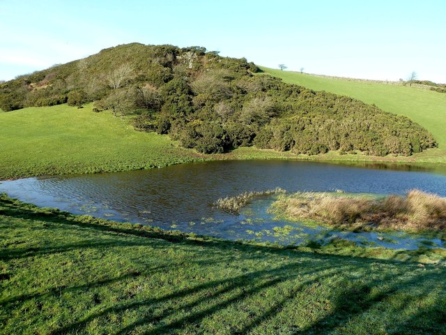 Loch Near Kildoon Hill