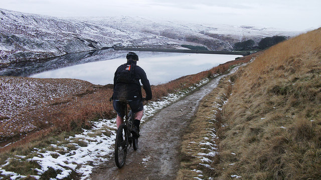Approaching Wessenden Reservoir