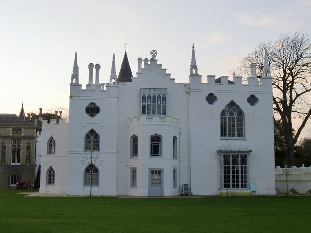 Strawberry Hill, east elevation