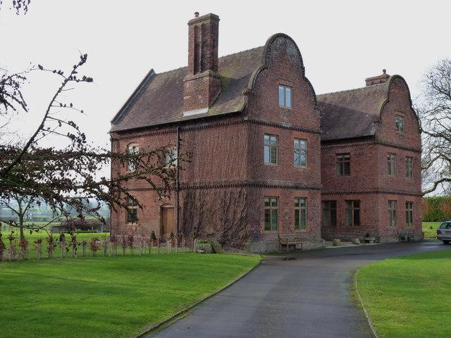 Great Lyth Manor house