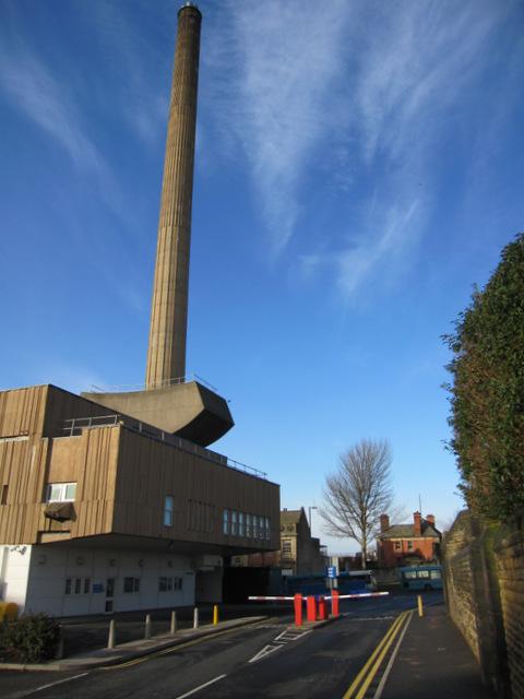 Royal Liverpool University Hospital chimney