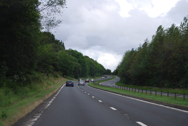 A82 heading north
