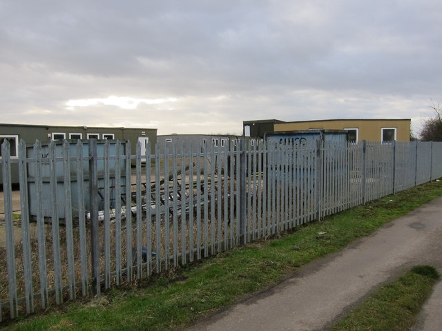 Portable offices off Thornham Road