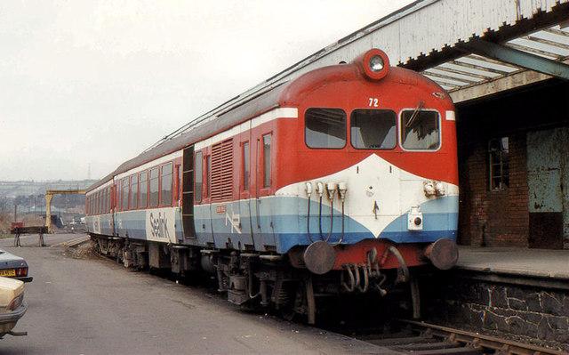 """Sealink"" train, Larne Harbour"