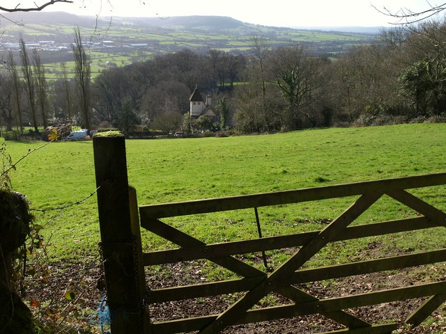 Pulshayes from the lane up St Cyres' Hill