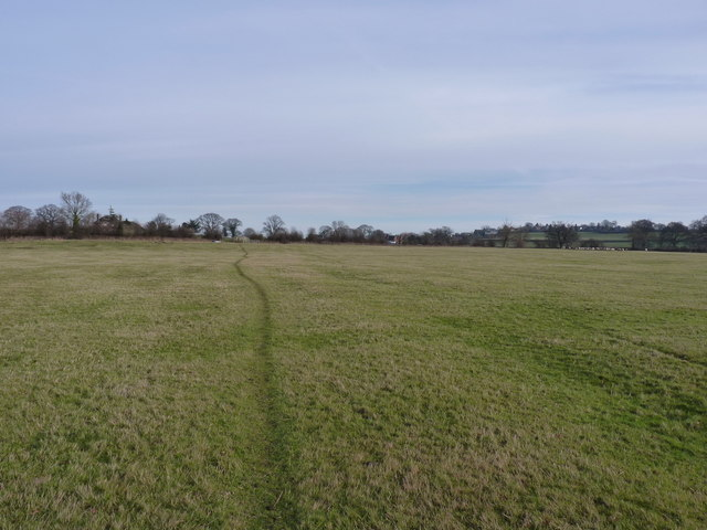 The footpath towards Great Lyth