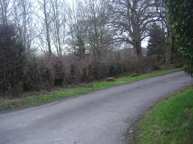 Entrance to Little Abbot's farm