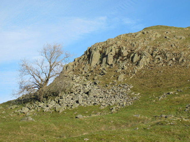 Crags below Turret 44b (Mucklebank) on Hadrian's Wall