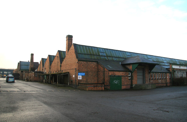 Price Shepshed Factory, Great Central Road, Loughborough