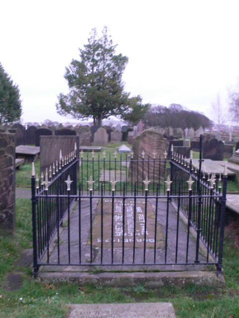 The grave of the Childe of Hale