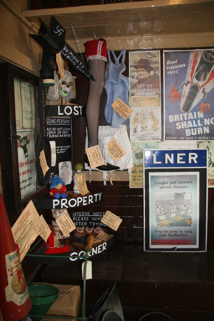 Quorn & Woodhouse Station - Lost Property Corner
