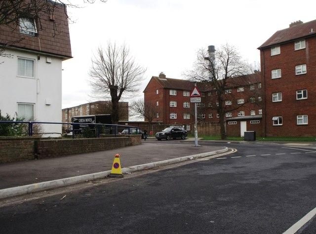 Flats in Whiterock Place, Southwick
