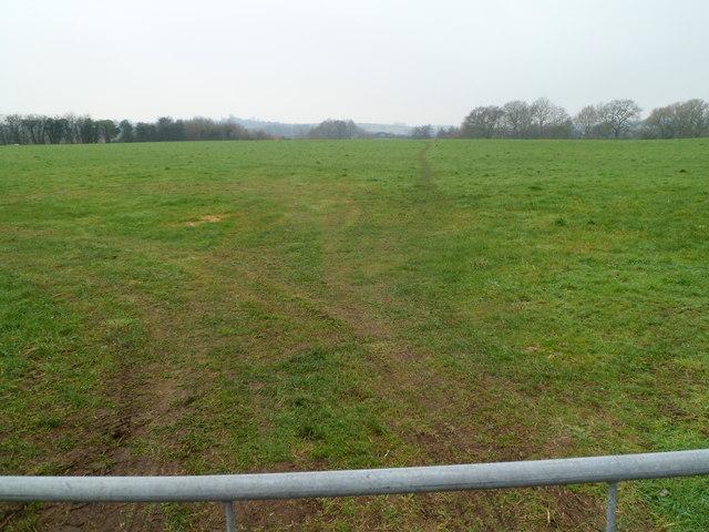 Field bordering Bailey's Hay, Mathern