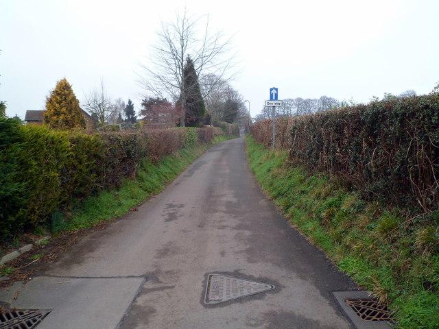 One-way system along Chapel Lane, Pwllmeyric