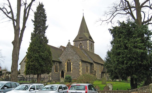 The Parish Church of St. John the Evangelist (2), Epsom Road, Merrow, Guildford