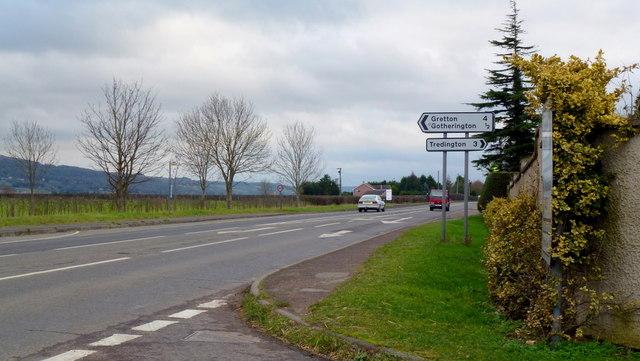 A435 Cheltenham Road