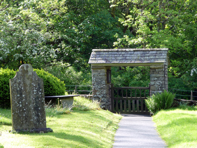 Lychgate, Jesus Church, Troutbeck, Cumbria