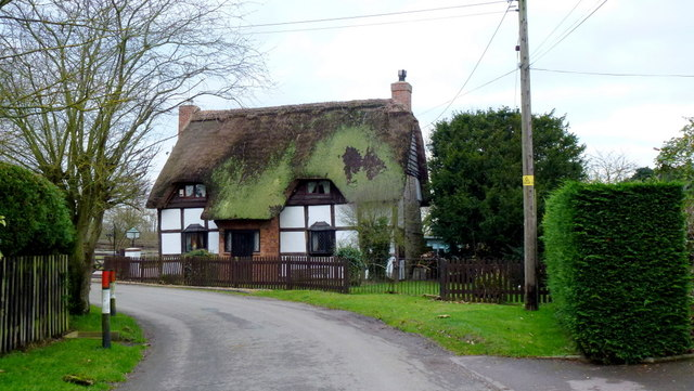 Thatched cottage in Brockhampton