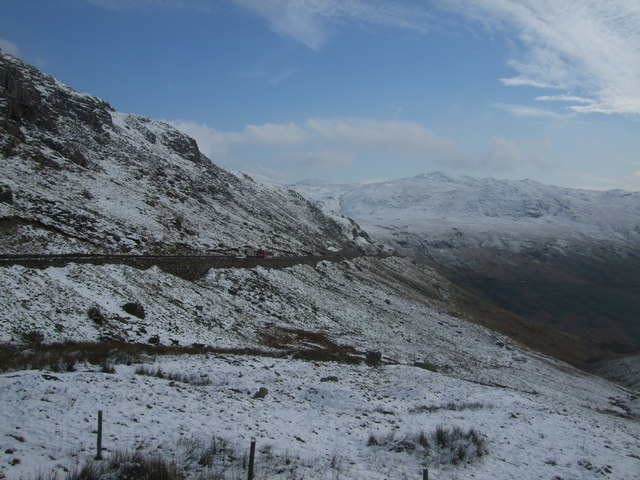 View from Pen-y-Pass