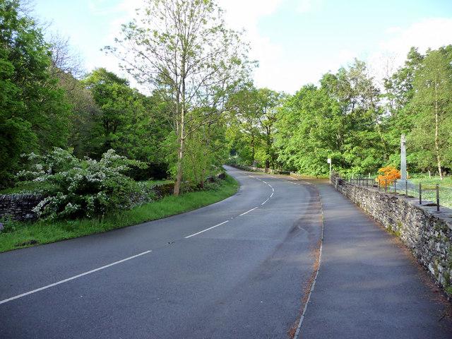 A592, Troutbeck, Cumbria