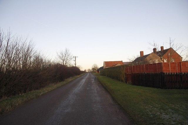 Road by Spring Farm