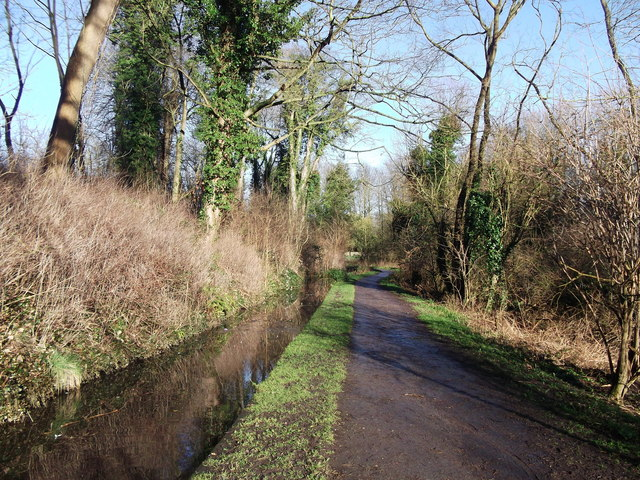 Path to West Malling