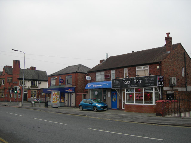 Small row of shops