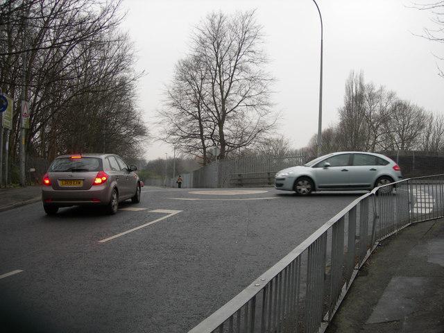 Mini-roundabout, Padgate