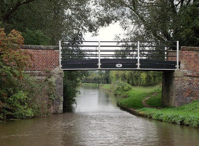 Iron Bridge near Burston, Staffordshire