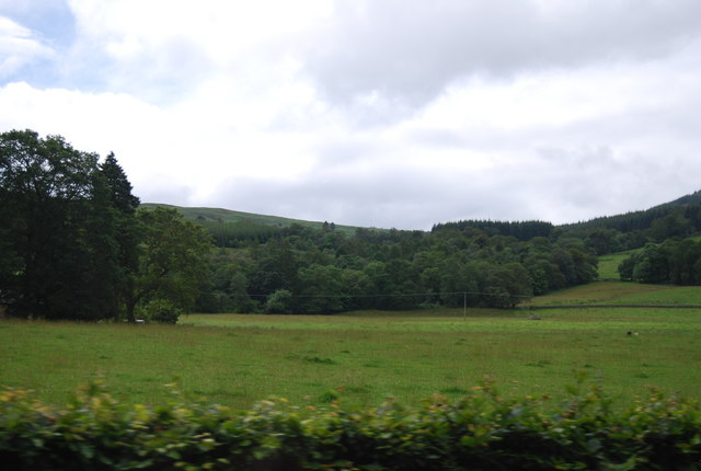 View from the A82